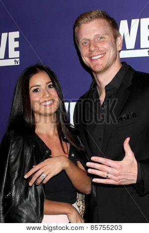 LOS ANGELES - MAR 19:  Catherine Lowe, Sean Lowe at the WE tv Presents