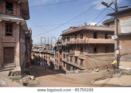 The Street Of Patan