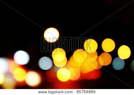 Bokeh From Traffic Light