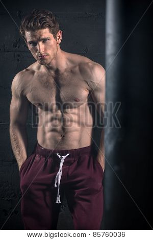 Athletic man