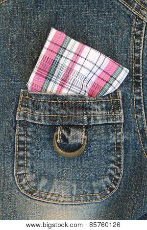 Handkerchief In Jeans
