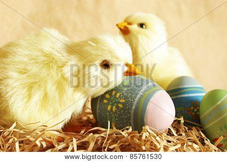 Easter Chicks Eggs