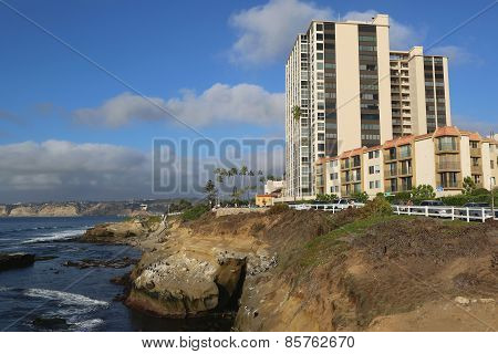 Ocean Front at La Jolla Cove, California