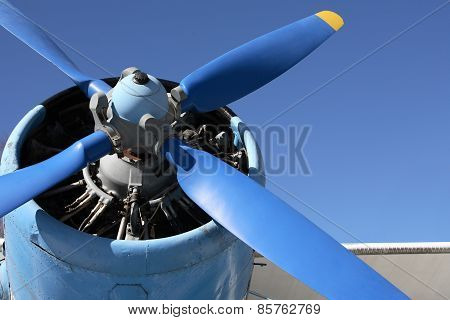 Old Propeller-driven Airplane