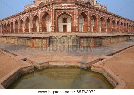 Close View Of Humayun's Tomb, Delhi, India