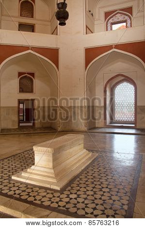 Interior Of Humayun's Tomb, Delhi, India