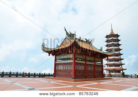 Chinese Temple In Genting Highland