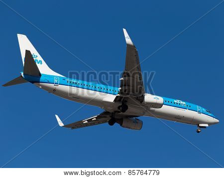 Airplane Boeing 737-8K2