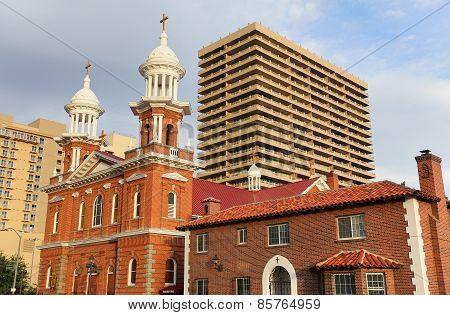 St Thomas Aquinas Cathedral In Reno, Nevada
