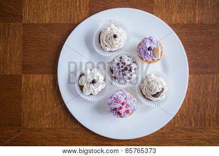 Cute Delicious Cupcakes
