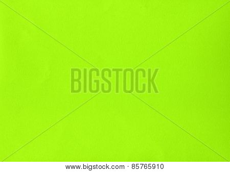 Green Yellow Color Paper
