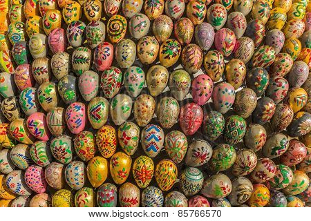 Easter Eggs In Many Different Designs