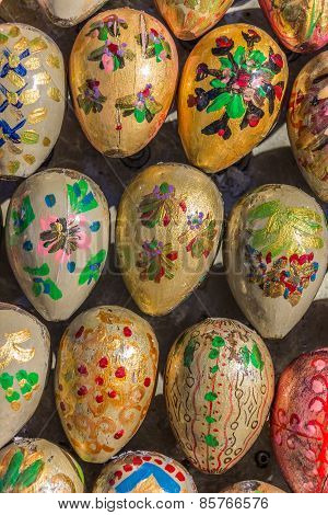 Easter Eggs In Different Designs
