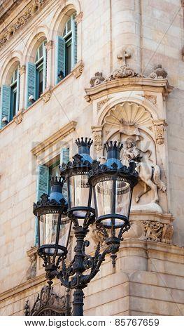 Barcelona lantern