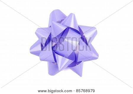 lilac color Bow From