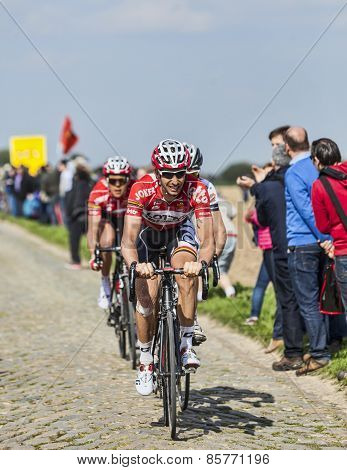 Kenny Dehaes- Paris Roubaix 2014