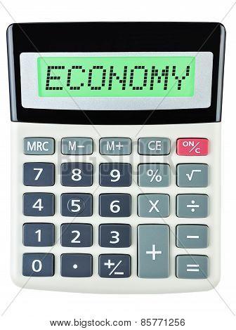 Calculator With Economy