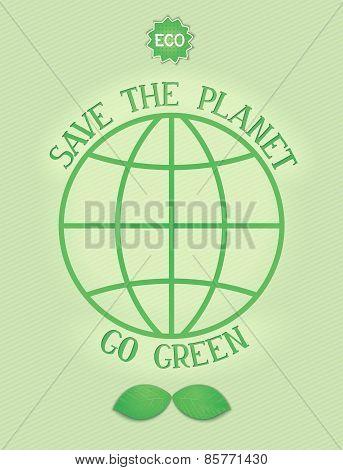 Environment concept poster