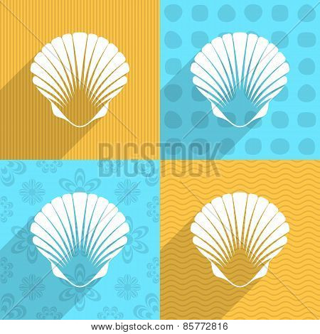 Scallop Seashell Icon