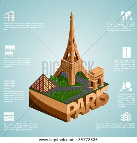 Isometry city Paris