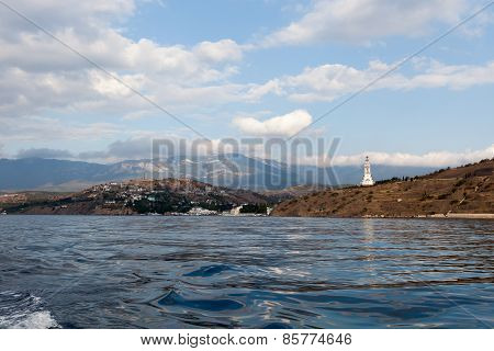 View Of The Coast Of The Crimea In Summer Day
