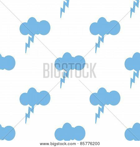 Storm seamless pattern