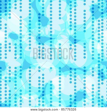 Abstract Continuous Vector Background With Circles.