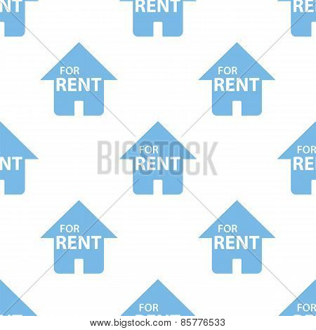 For rent seamless pattern