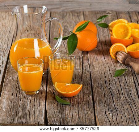 Composition With Orange Juice