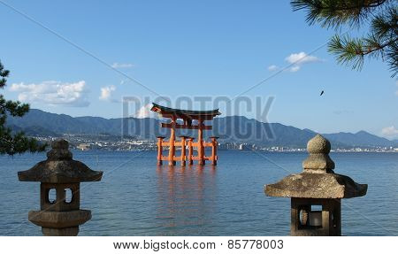 Itsukishima shinto shrine near Hiroshima