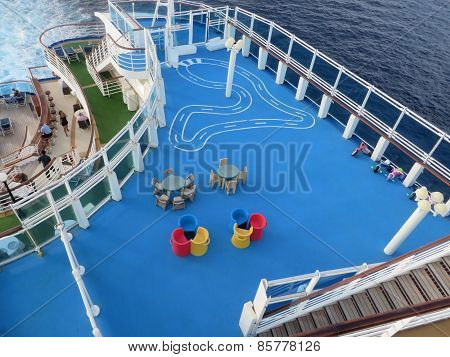 Play area on cruise ship
