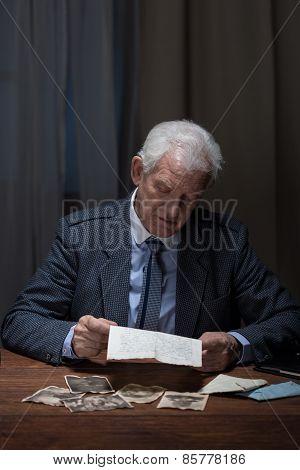 Lonely Sad Businessman