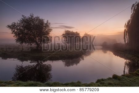 Mystical morning in England