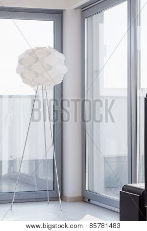 Designed Lamp In Contemporary Interior