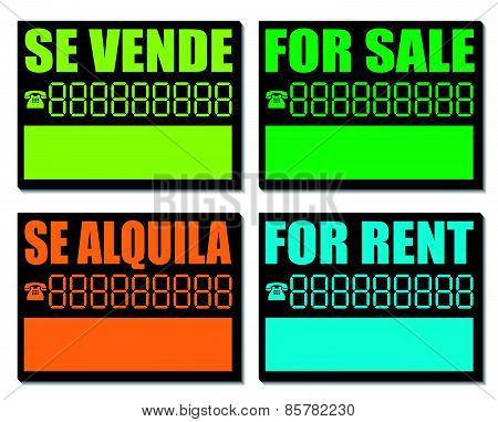 For Sale and Rent Cartels