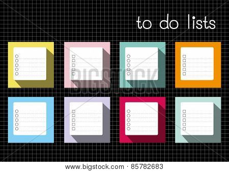 To Do Lists Blank