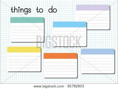 Things To Do Blank