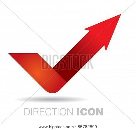 Communication Concept With Arrow