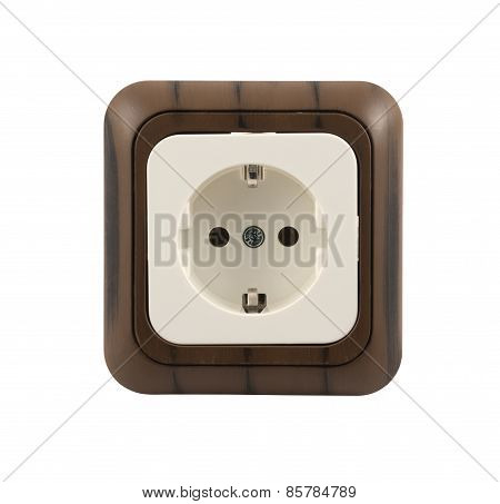 Electrical socket isolated