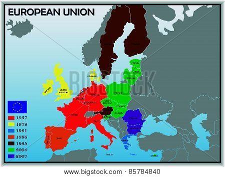 Map of European Union