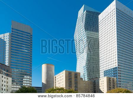 Skyscrapers In Paris
