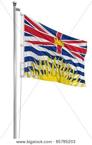 3D British Columbia  Flag