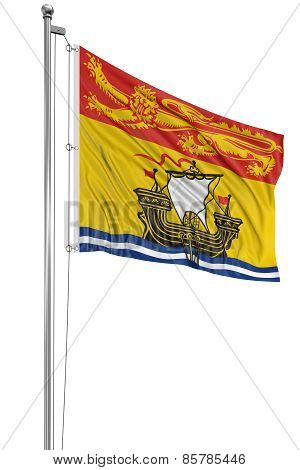 3D New Brunswick  Flag