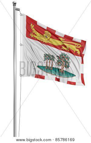 3D Prince Edward Island  Flag