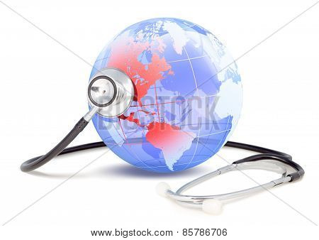 Stethoscope that monitors the state of health of America