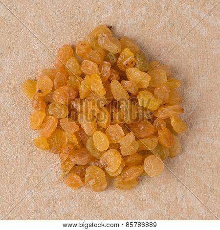 Circle Of Golden Raisins