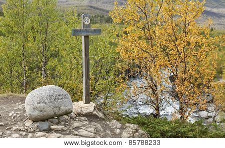 LAPLAND, SWEDEN ON SEPTEMBER 03