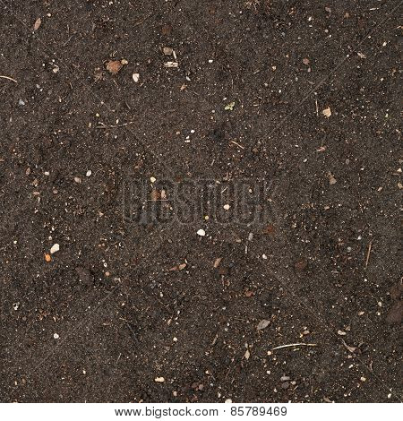 Earth texture with a small stone admixture