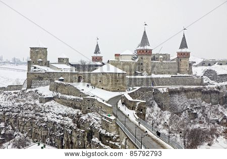 Medieval Fortress Of Kamyanets-podilsky, Ukraine