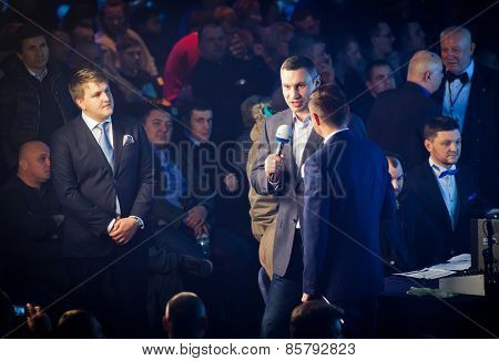 Mayor Of Kyiv City And Former Heavyweight Champion Vitali Klitschko